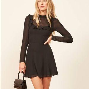 Reformation NWT Spark Black Dress